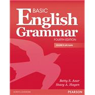 Basic English Grammar B with Audio CD by Azar, Betty S; Hagen, Stacy A., 9780132942287