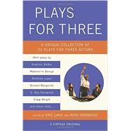 Plays for Three by LANE, ERICSHENGOLD, NINA, 9781101872291