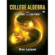 College Algebra by Larson, Ron, 9781337282291