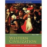 Western Civilization Since 1300 by Spielvogel, Jackson J., 9781305272293
