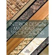 Interior Design Materials and Specifications by Godsey, Lisa, 9781609012298