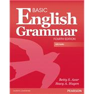 Basic English Grammar with Audio CD, without Answer Key by Azar, Betty S.; Hagen, Stacy A., 9780132942300