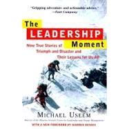The Leadership Moment by USEEM, MICHAELBENNIS, WARREN, 9780812932300