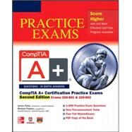CompTIA A+ Certification Practice Exams, Second Edition (Exams 220-801 & 220-802) by Pyles, James; Chapple, Michael; Pastore, Michael, 9780071792301