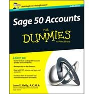 Sage 50 Accounts for Dummies by Kelly, Jane, 9781119052302