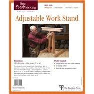Fine Woodworking's Adjustable Work Stand Plans by Fortune, Michael, 9781631862304