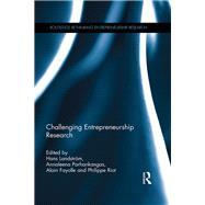Challenging Entrepreneurship Research by Landstrom; Hans, 9781138922310