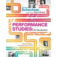 Performance Studies: An Introduction by Schechner; Richard, 9780415502313