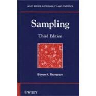 Sampling by Thompson, Steven K., 9780470402313