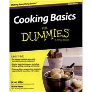 Cooking Basics for Dummies by Miller, Bryan; Rama, Marie; Adamson, Eve (CON), 9781118922316