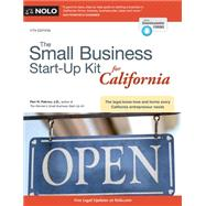 The Small Business Start-up Kit for California by Pakroo, Peri, 9781413322316