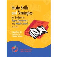 Study Skills and Strategies for Students in Upper Elementary and Middle School by Mangrum-Strichart Learning Resources, 9780979772320