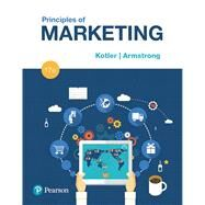 Principles of Marketing, Student Value Edition Plus MyLab Marketing with Pearson eText -- Access Card Package by Kotler, Philip T.; Armstrong, Gary, 9780134642321