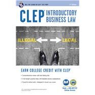Clep Introductory Business Law + Online by Fairfax, Lisa M.; Berman, Paul, 9780738612324