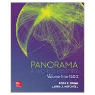 Panorama: A World History Volume 1 by Mitchell, Laura;   Dunn, Ross, 9780077482329