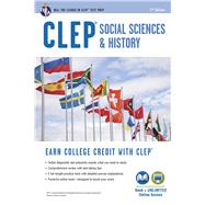Clep Social Sciences & History + Online by Dittloff, Scott, 9780738612331