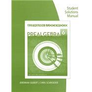 Student Solutions Manual for Aufmann/Lockwood's Prealgebra: An Applied Approach by Aufmann, Richard N.; Lockwood, Joanne, 9781285092331