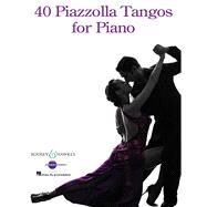 40 Piazzolla Tangos for Piano by Piazzolla, Astor (COP), 9781480382336