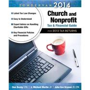 Zondervan 2014 Church and Nonprofit Tax & Financial Guide: For 2013 Tax Returns by Busby, Dan; Martin, J. Michael; Van Drunen, John, 9780310492337