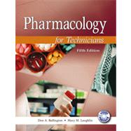 Pharmacology for Technicians (Text, CD, and Drug Guide) by Ballington, 9780763852337