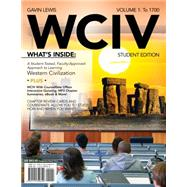 WCIV, Volume I (with Review Cards and History CourseMate with eBook, Wadsworth Western Civilization Resource Center 2-Semester Printed Access Card) by Lewis, Gavin, 9781111342340
