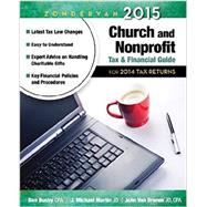 Zondervan Church and Nonprofit Tax & Financial Guide 2015: For 2014 Tax Returns by Busby, Dan; Martin, J. Michael; Van Drunen, John, 9780310492344