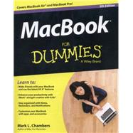 Macbook for Dummies by Chambers, Mark L., 9781118862346