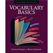 Vocabulary Basics by Nadell, Judith; Johnson, Beth, 9781591942351