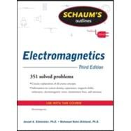 Schaum's Outline of Electromagnetics, Third Edition by Edminister, Joseph, 9780071632355