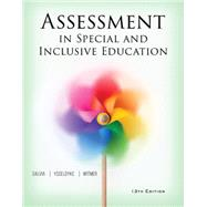 Assessment in Special and Inclusive Education by Salvia, John; Ysseldyke, James; Witmer, Sara, 9781305642355