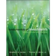 Fundamentals of Investments by Jordan, Bradford D.; Miller, Thomas, 9780073382357