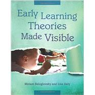 Early Learning Theories Made Visible by Beloglovsky, Miriam; Daly, Lisa, 9781605542362