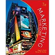 Marketing: The Core by Kerin, Roger; Hartley, Steven, 9781259712364