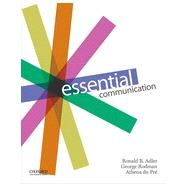 Essential Communication by Adler, Ronald; Rodman, George; du Pre, Athena, 9780199342365