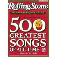 Rolling Stone Easy Piano Sheet Music Classics by Coates, Dan, 9780739052365