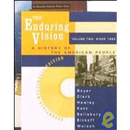 The Enduring Vision: Essentials by BOYER, 9780395982372