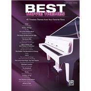 Best Movie Themes by Alfred Music (CON), 9781470632373