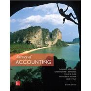 Survey of Accounting by Edmonds, Thomas; Edmonds, Christopher; Olds, Philip; McNair, Frances; Tsay, Bor-Yi, 9780077862374