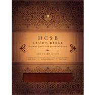 HCSB Study Bible, Mahogany LeatherTouch by Unknown, 9781433602382
