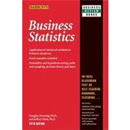 Business Statistics by Downing, Douglas, 9780764142390