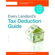 Every Landlord's Tax Deduction Guide by Fishman, Stephen, 9781413322392