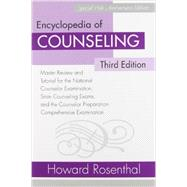 Encyclopedia of Counseling Package: Complete Review Package for the National Counselor Examination, State Counseling Exams, and Counselor Preparation Comprehensive Examination (CPCE) by Rosenthal; Howard, 9780415872393