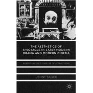 The Aesthetics of Spectacle in Early Modern Drama and Modern Cinema Robert Greene's Theatre of Attractions by Sager, Jenny, 9781137332394