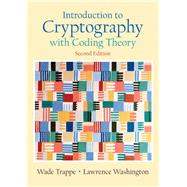 Introduction to Cryptography with Coding Theory by Trappe, Wade; Washington, Lawrence C., 9780131862395