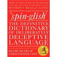 Spin-glish by Beard, Henry; Cerf, Christopher, 9780399172397