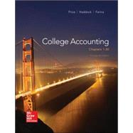 College Accounting ( Chapters 1-30) by Price, John; Haddock, M. David; Farina, Michael, 9780077862398