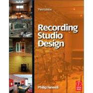 Recording Studio Design by Newell; Philip, 9780240522401