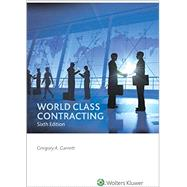 World Class Contracting by Garrett, Gregory A., 9780808042402