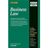 Business Law by Emerson, Robert W., 9780764142406