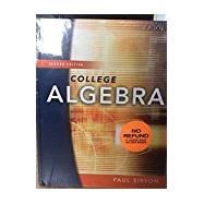College Algebra Textbook and Software Bundle by Hawkes Learning Systems, 9781941552407